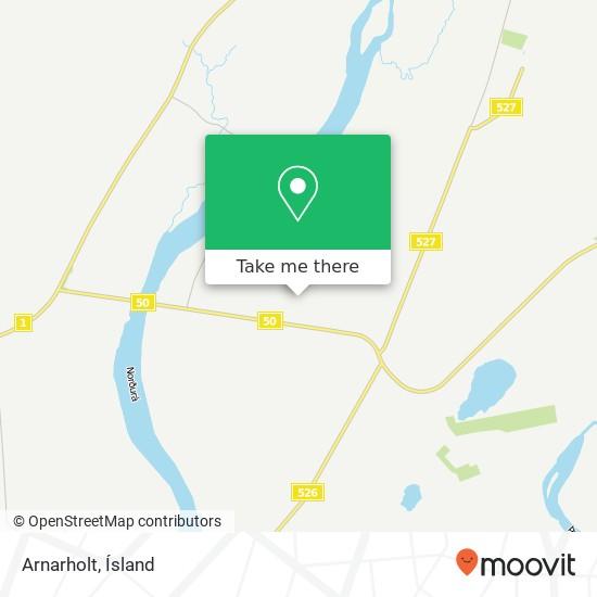 Arnarholt map