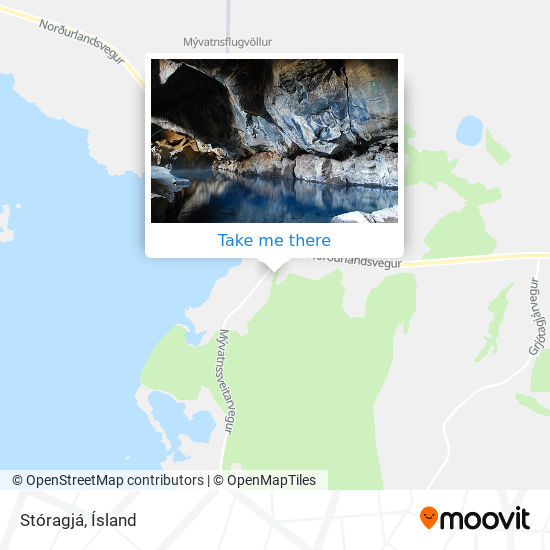 Stóragjá map