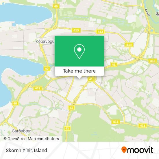Skórnir Þínir map