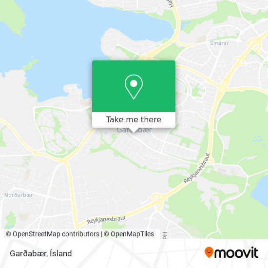 Garðabær map