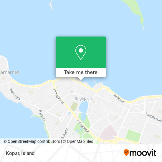 Kopar map