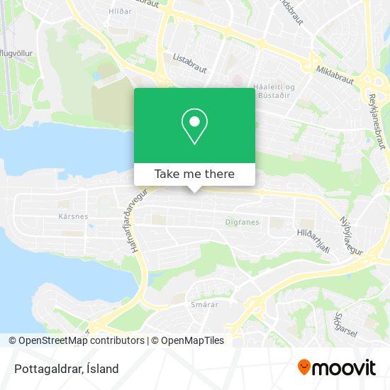 Pottagaldrar map