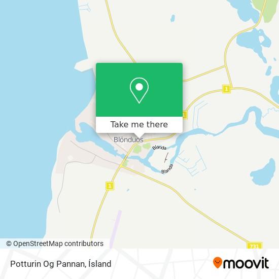 Potturin Og Pannan map