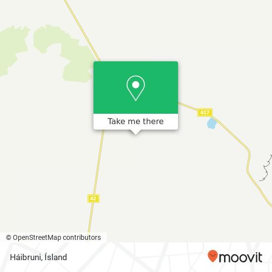 Háibruni map