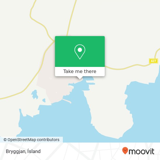 Bryggjan map