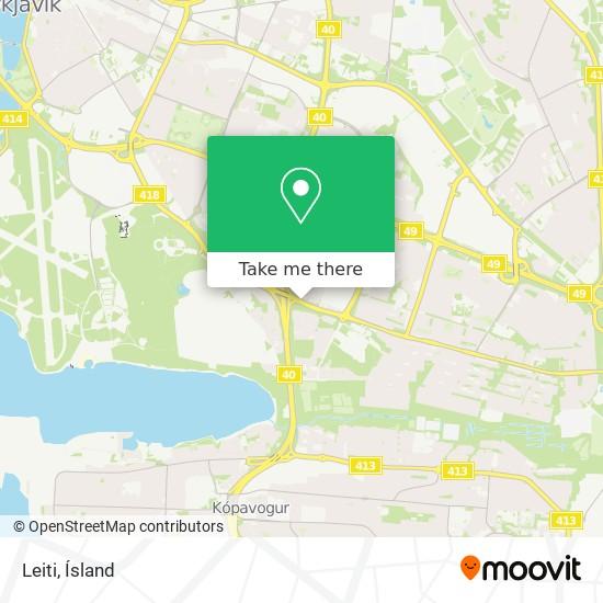 Leiti map