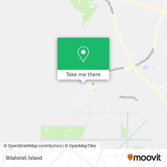 Bílahótel map