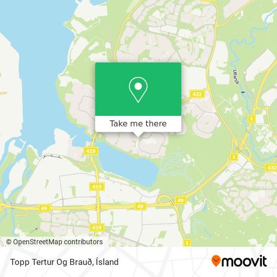 Topp Tertur Og Brauð map