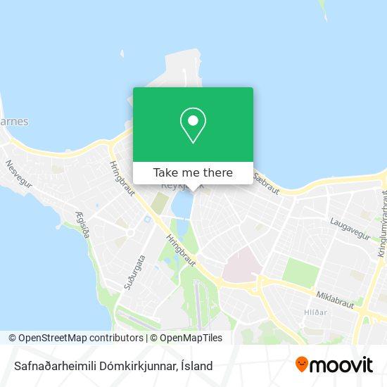 Safnaðarheimili Dómkirkjunnar map