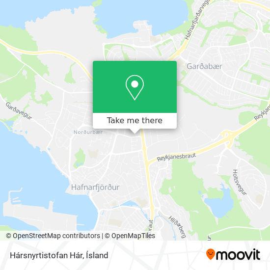 Hársnyrtistofan Hár map