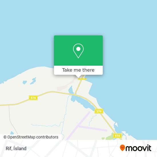 Rif map