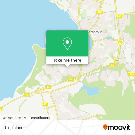 Uxi map