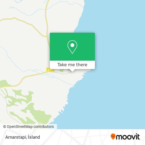 Arnarstapi map