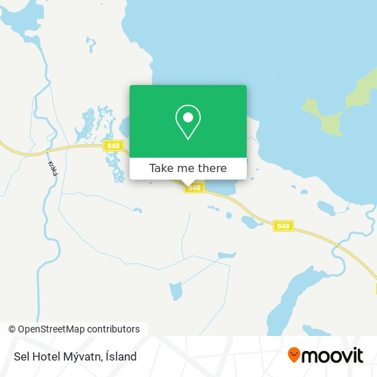 Sel - Hotel Mývatn map