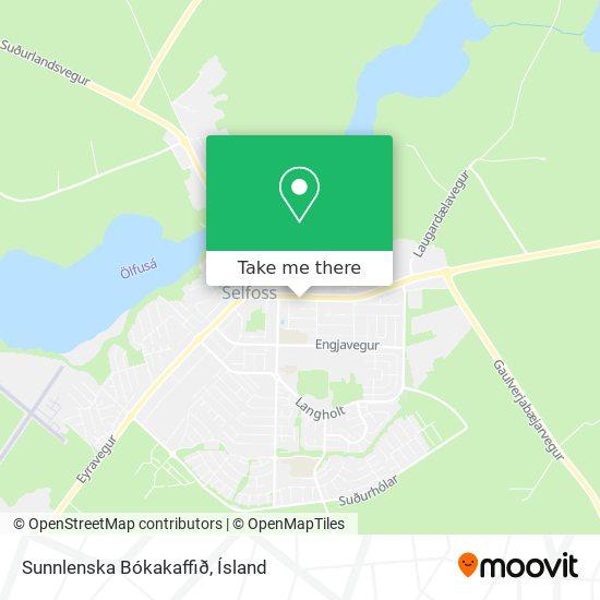 Sunnlenska Bókakaffið map