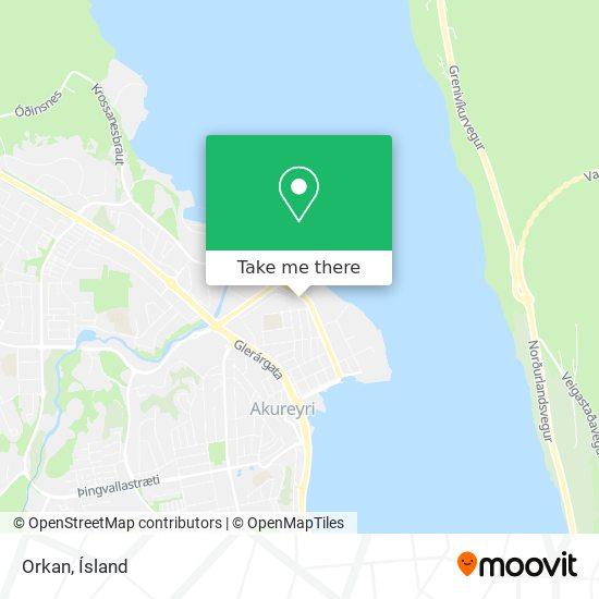 Orkan map