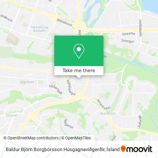 Baldur Björn Borgþórsson Húsgagnaviðgerðir map