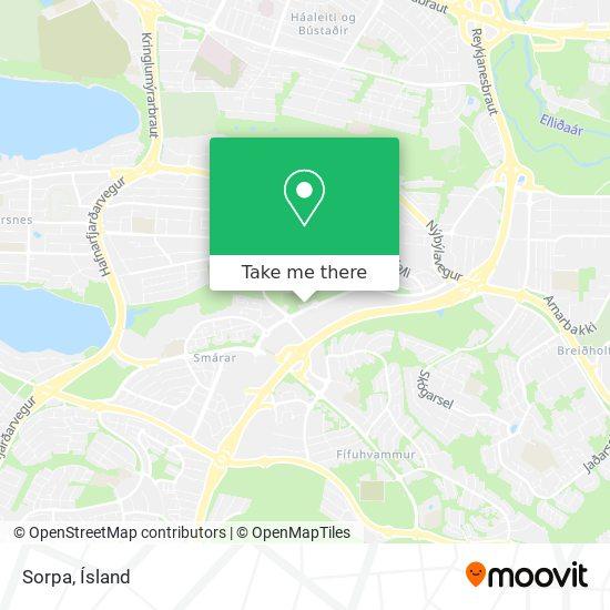 Sorpa map