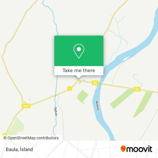 Baula map