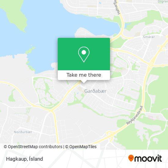 Hagkaup map