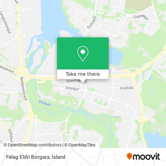Félag Eldri Borgara map