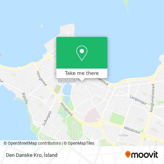 Den Danske Kro map