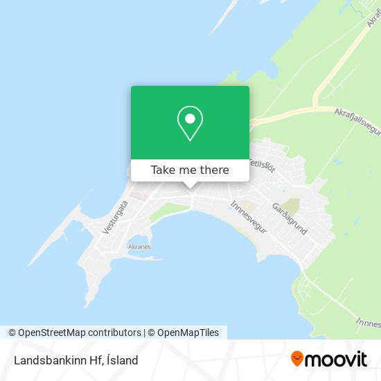 Landsbankinn Hf map