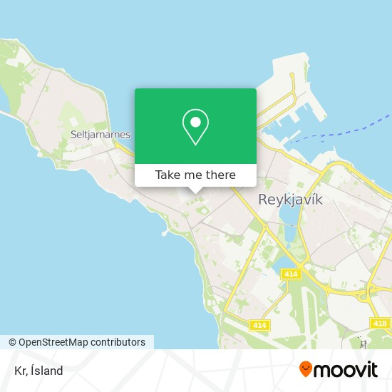 Kr map