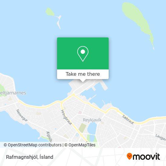 Rafmagnshjól map