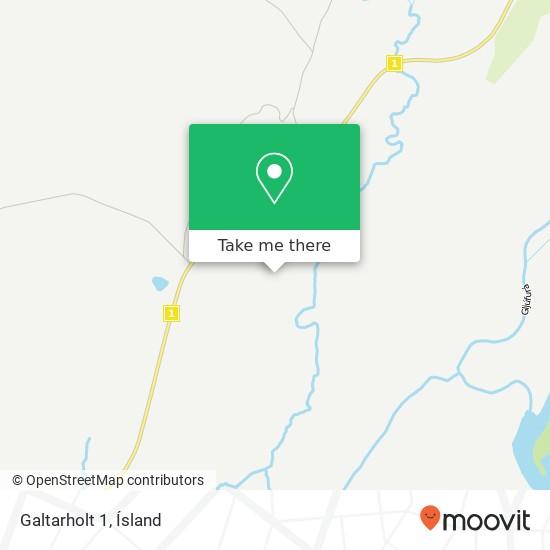 Galtarholt 1 map