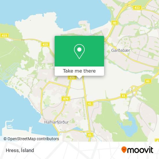 Hress map