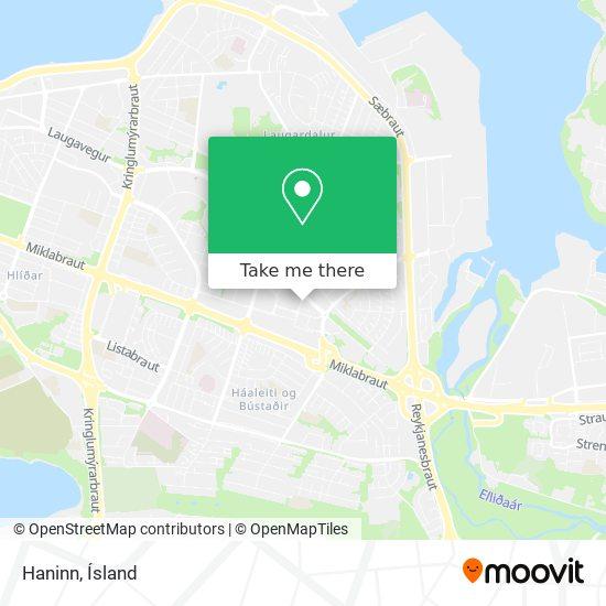 Haninn map