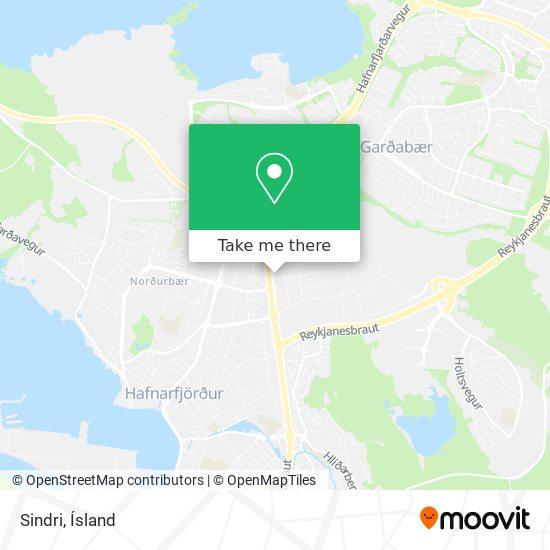 Sindri map