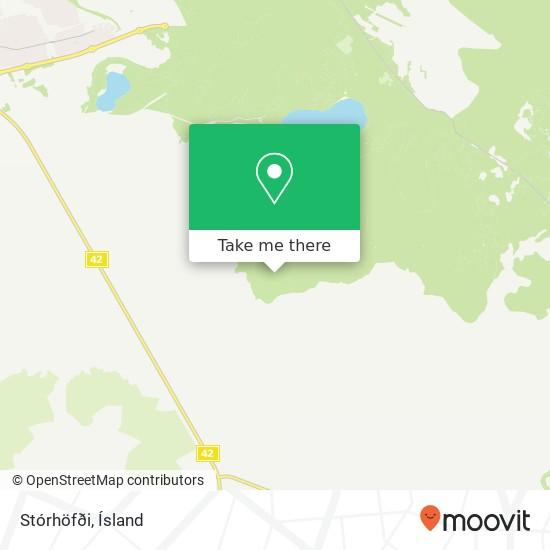 Stórhöfði map