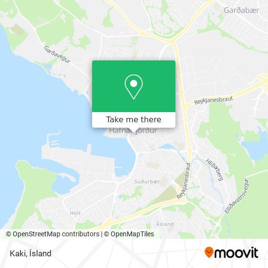 Kaki map