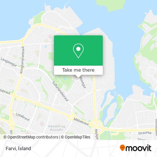 Farvi map