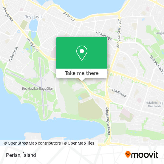 Perlan map