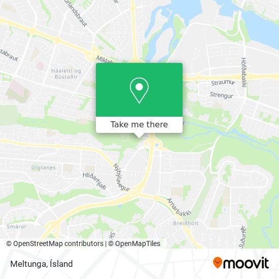 Meltunga map