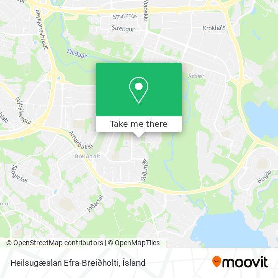 Heilsugæslan Efra-Breiðholti map