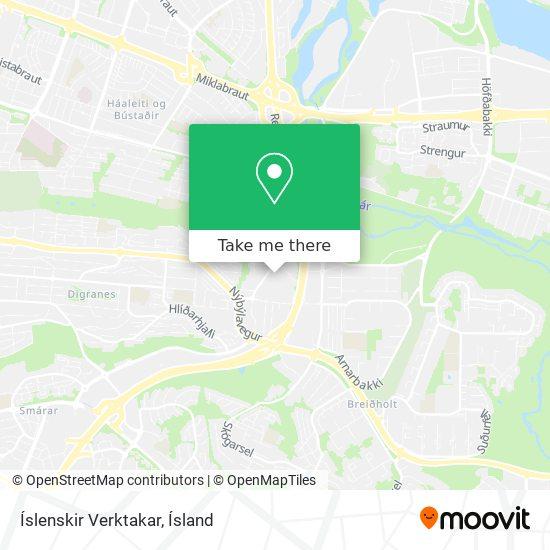 Íslenskir Verktakar map