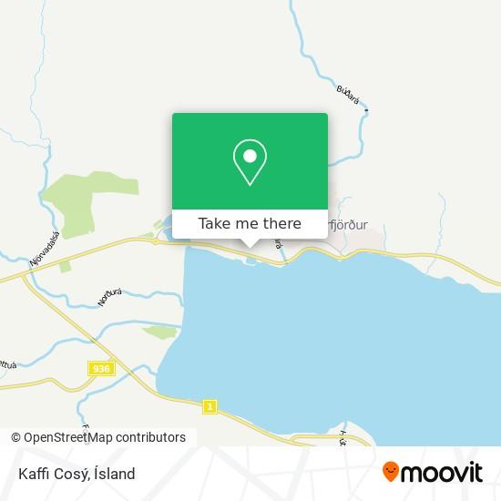 Kaffi Cosý map