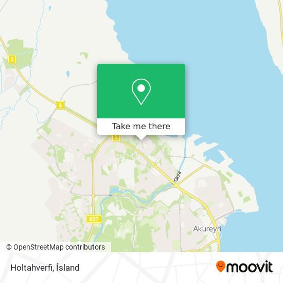 Holtahverfi map