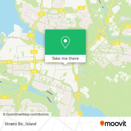 Strætó Bs. map