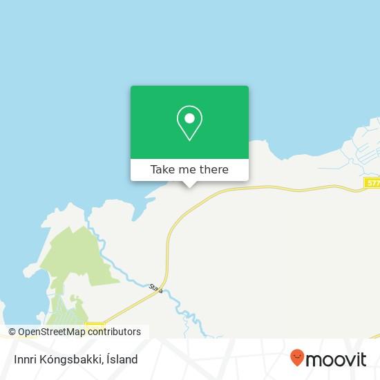 Innri Kóngsbakki map