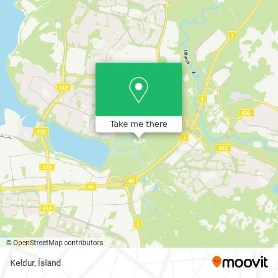 Keldur map