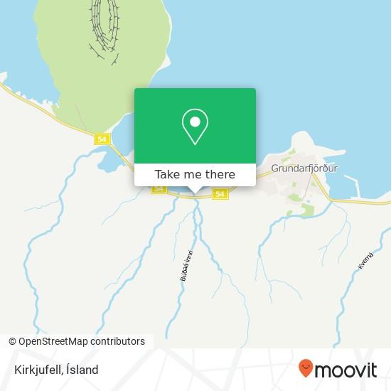 Kirkjufell map