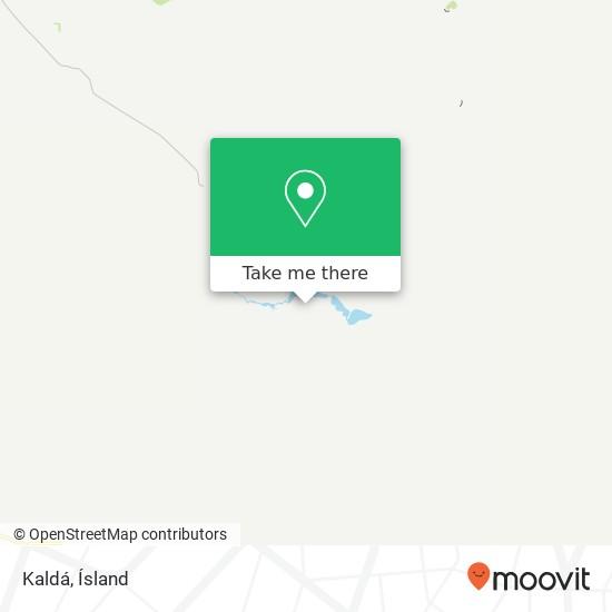Kaldá map