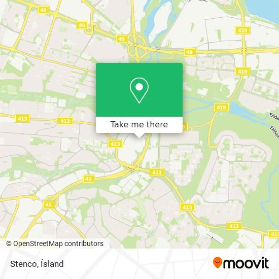 Stenco map