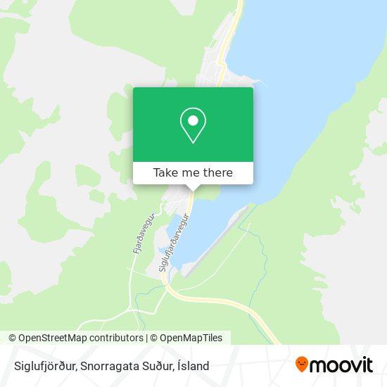 Siglufjörður, Snorragata Suður map