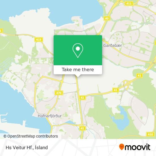Hs Veitur Hf. map